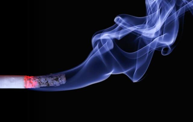 kesan asap rokok
